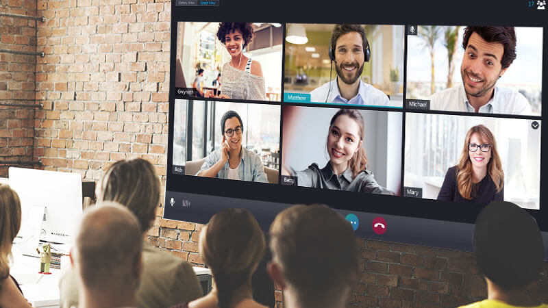 browser-based video conference